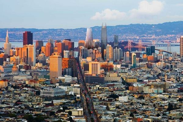 Using geography to accommodate growth a proposal for san for San francisco landscape architecture