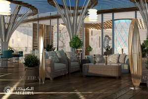 Luxury Penthouse Interior Design In Dubai Architect Magazine