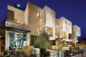 Italian Flavor The Beach Townhomes At Laude 33 Boast Individual Private Front Courtyards For Outdoor