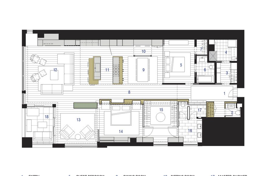 Edgewater Condo Kitchen Residential Architect