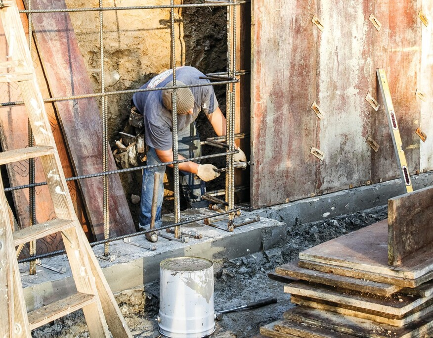 Foundation Walls, How Thick Is A Poured Concrete Basement Wall