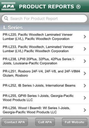 mobile apps apa engineered wood association builder magazine