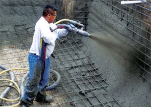 Shotcrete 101 pool spa news shotcrete concrete mix Concrete swimming pool construction methods