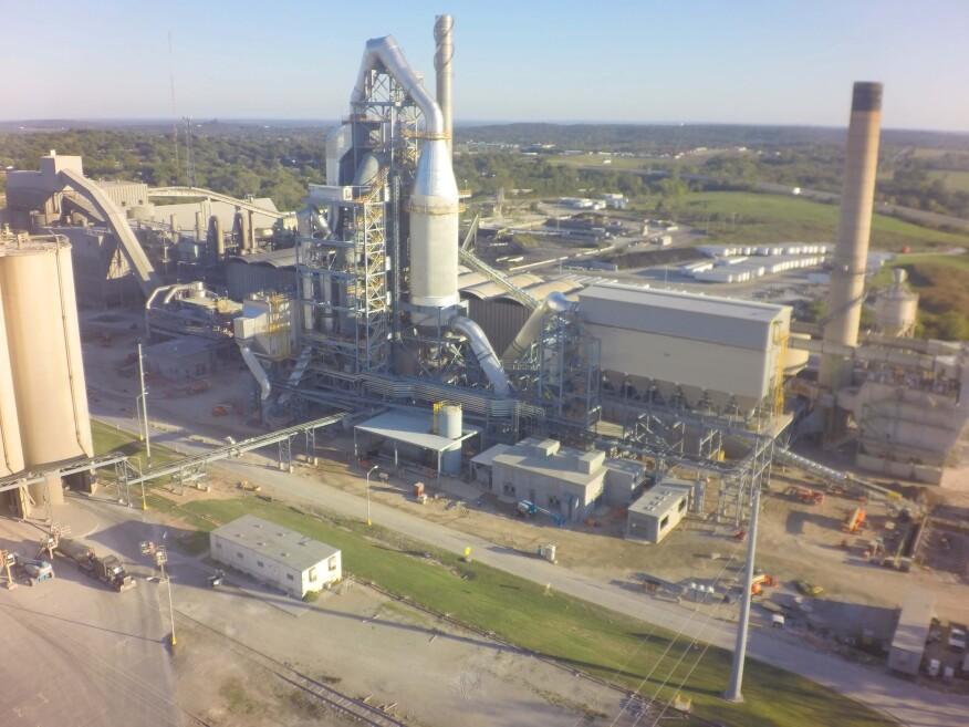 Montreal Cement Plants : Holcim us completes million cement plant