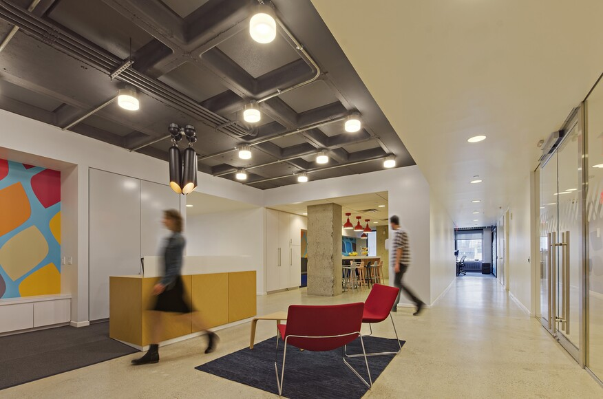 Midtown tech office architect magazine pliskin for Modern tech office design