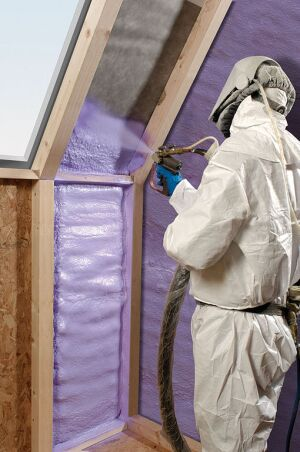 Four green alternatives to spray foam insulation ecobuilding pulse spray foam insulation is one of the best options for increasing the energy efficiency of a home it is air tight and closed cell remains the only fema solutioingenieria Gallery