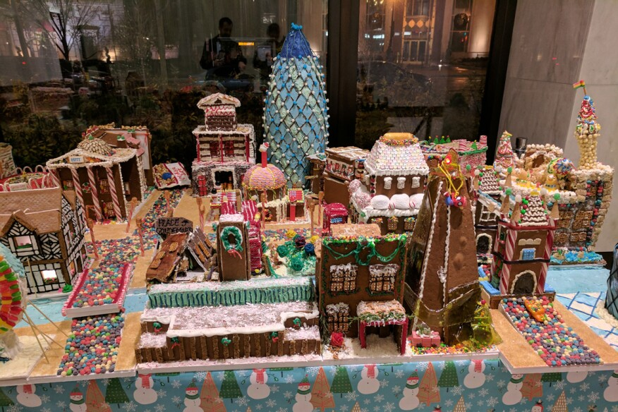 Dc Architects Construct London Out Of Gingerbread Architect