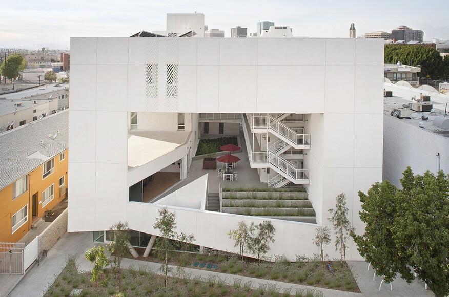 apartment architecture design. The Six Affordable Veteran Housing Apartment Architecture Design