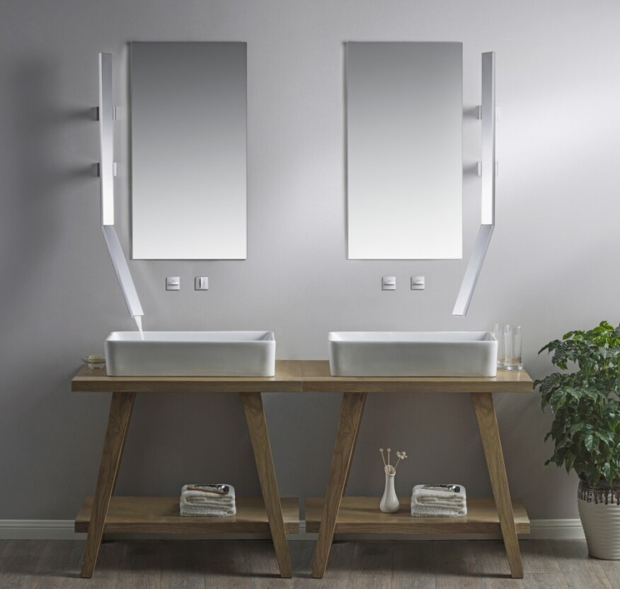 8 Kitchen And Bath Fixtures That Showcase Form And