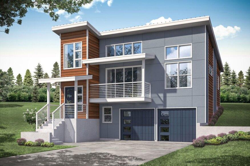 New Modern House Plans Under 2 000 Sq Ft Builder Magazine