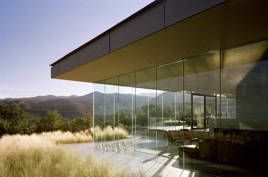Santa fe residence architect magazine ohlhausen dubois for Modern view decking