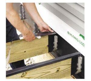 "JOIST JACKETS 2 Rolls 50/' x 4/"" PVC Deck Protector"
