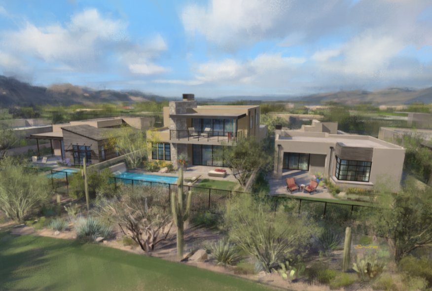 Opening soon near Phoenix, the Villas at Seven Desert Mountain will begin pre-selling this month.