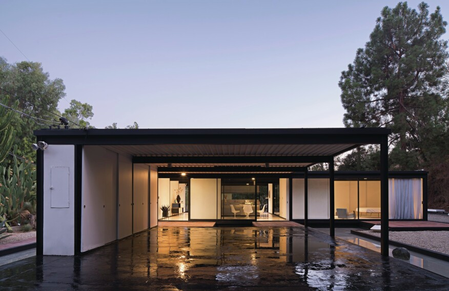 pierre koenig s case study house 21 hits the market custom home