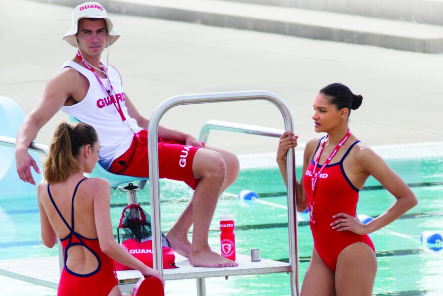 5c9874902 Kiefer Guard Essentials is a cohesive uniform line of swimwear and apparel  to outfit any pool or facility.