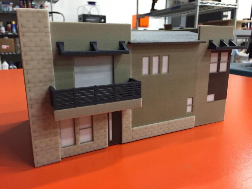8487bc86cb According to Ken Peterson, VP of Sales and Marketing for Shea Homes  Arizona, the company has paired with a local printing company called STAX 3D  to produce ...