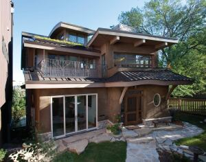 Ehda merit award kohler residence builder magazine for Straw bale house cost per square foot