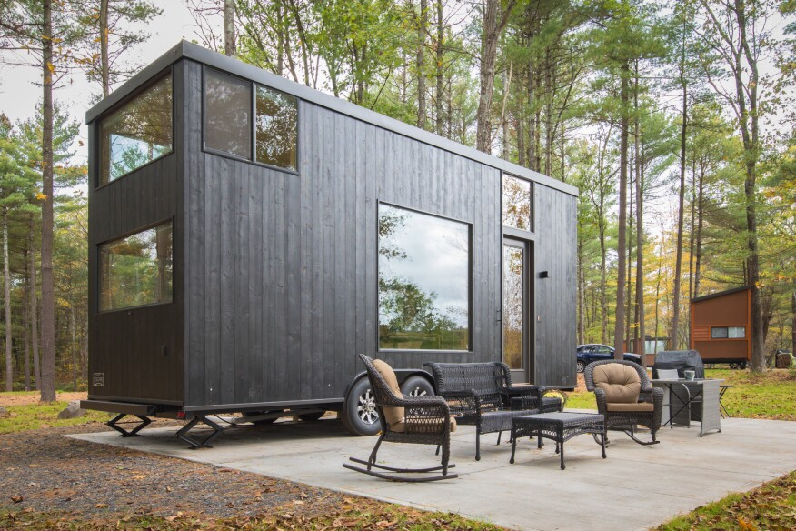 Tiny Homes Get a Resort of Their Own | Hanley Wood | Design ... on tiny houses wisconsin, tiny texas houses, tiny home, room design, tiny cottages with porches, cottage design, tiny victorian houses, tiny cottages and sheds, tiny mountain houses, swimming pool design, tiny houses in mn, architecture design, tiny houses built, shed design, tiny cottages on wheels, garage design, green design, tiny houses and cottages, tiny houses in america, bathroom design,