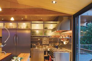 Indoor Outdoor Kitchens Custom Home Magazine