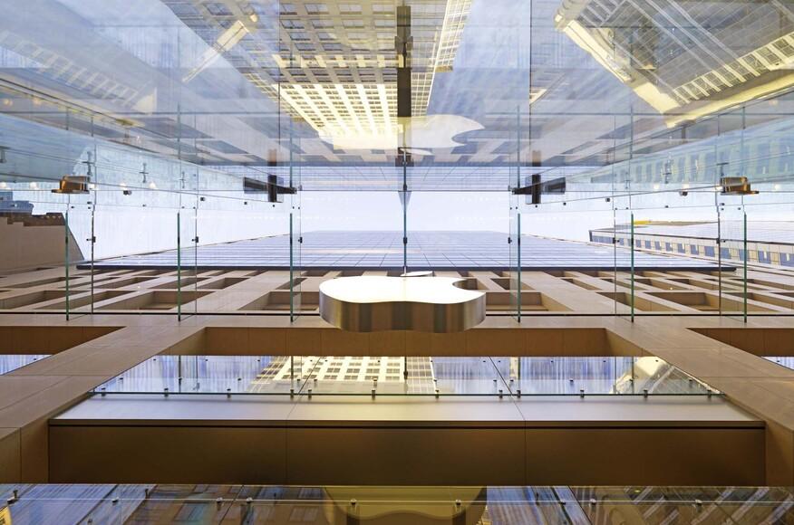 apple store sydney architect magazine bohlin cywinski jackson