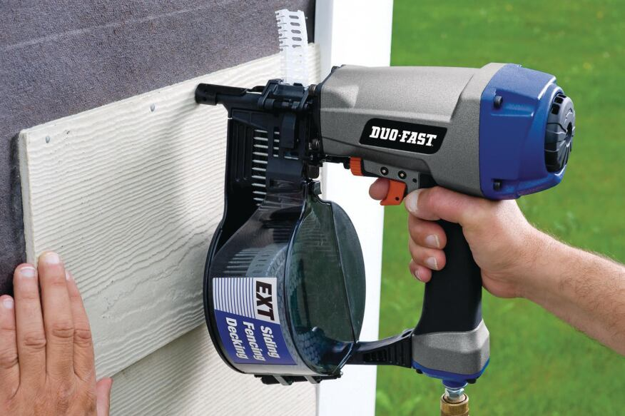 duo fast construction coil siding nailer builder magazine products tools and equipment power tools cement duo fast construction duo fast - Duo Fast Framing Nailer