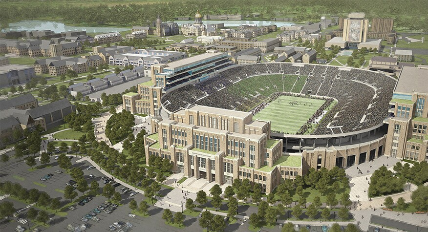 University of Notre Dame Campus Crossroads Project  2992980cb