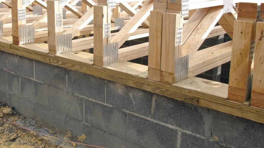 Floor trusses jlc online for Open web floor trusses