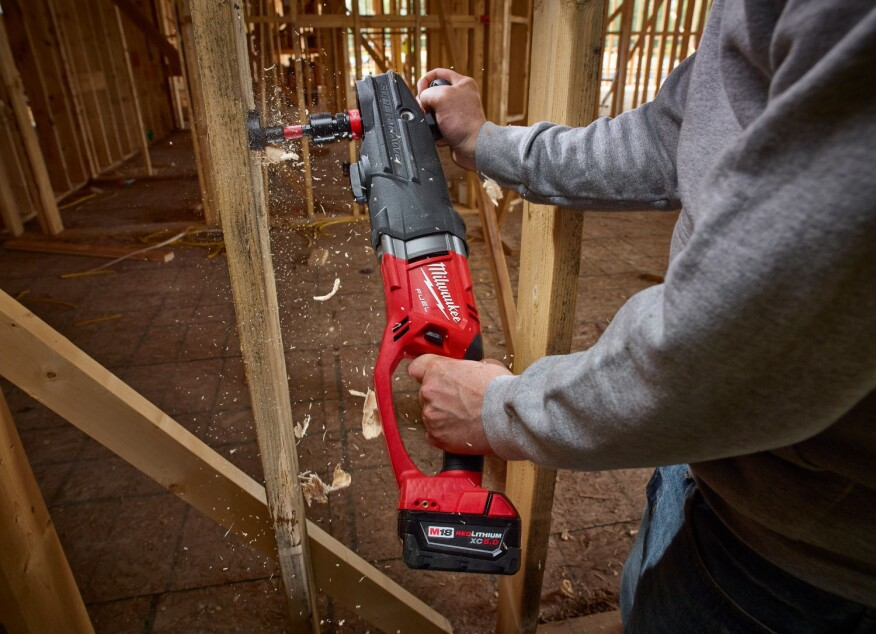 Milwaukee Recently Unveiled What Will Be The Most Ful Cordless Drill In World M18 Super Hawg David Frane Of Tools Trade Witnessed A