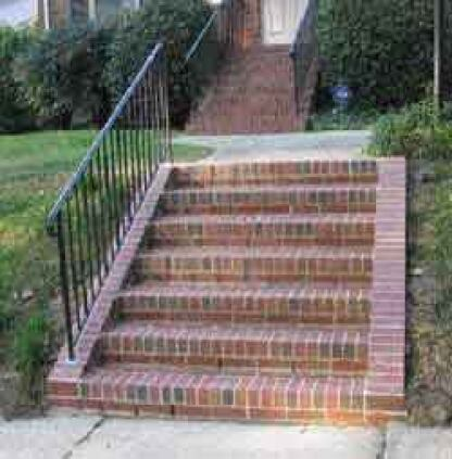 Building Brick Stairs Professional