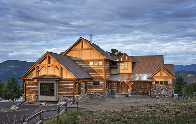 FourPlans A Touch of Rustic Style Builder Magazine Design