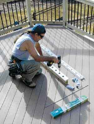Tips for Installing Aluminum Balusters | Professional Deck