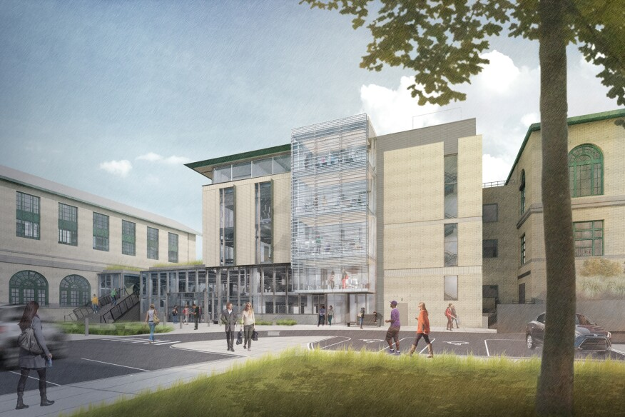 bohlin cywinski jackson designs two new projects for carnegie mellon
