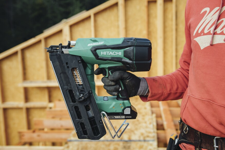 Hitachi Cordless Framing Nailer Jlc Online Power Tools