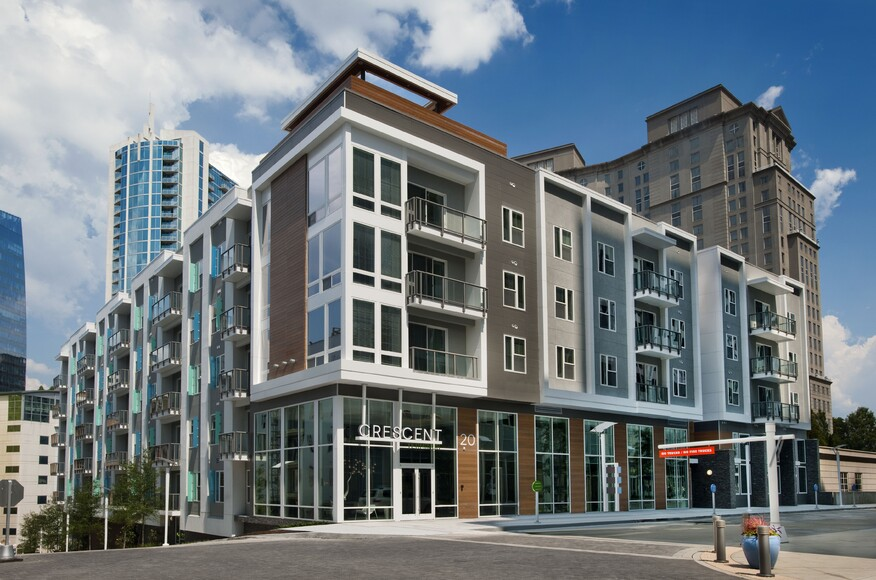 Crescent terminus architect magazine rethink wood for Residential architects atlanta ga