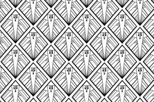 Art Deco Wallpaper Collection Atadesigns Custom Home Magazine