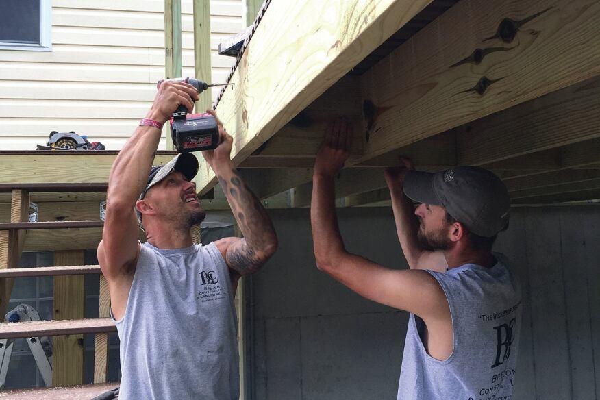 Foolproof Guard Posts Professional Deck Builder