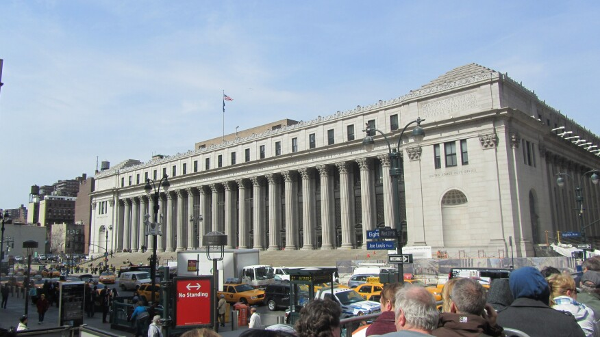 The Farley Post Office Building in 2014