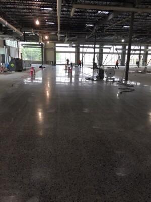 Planning To Polish A Concrete Slab Construction Magazine Polished Mix Design Finishing Lied Flooring C E Gleeson