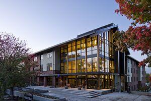 gilbert hall pacific university architect magazine mahlum