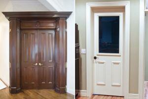 Custom doors from stock slabs jlc online doors for Custom wood windows online