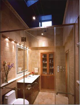 Remodel Yields Storage And Natural Light Remodeling Walls - Bathroom remodeling round rock texas