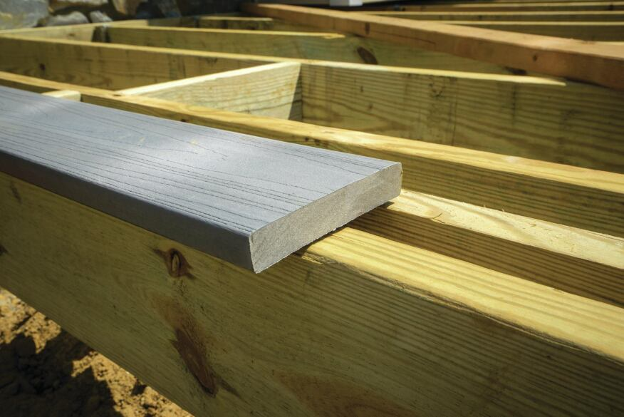 Composite fascia installation tips professional deck for How to install decking
