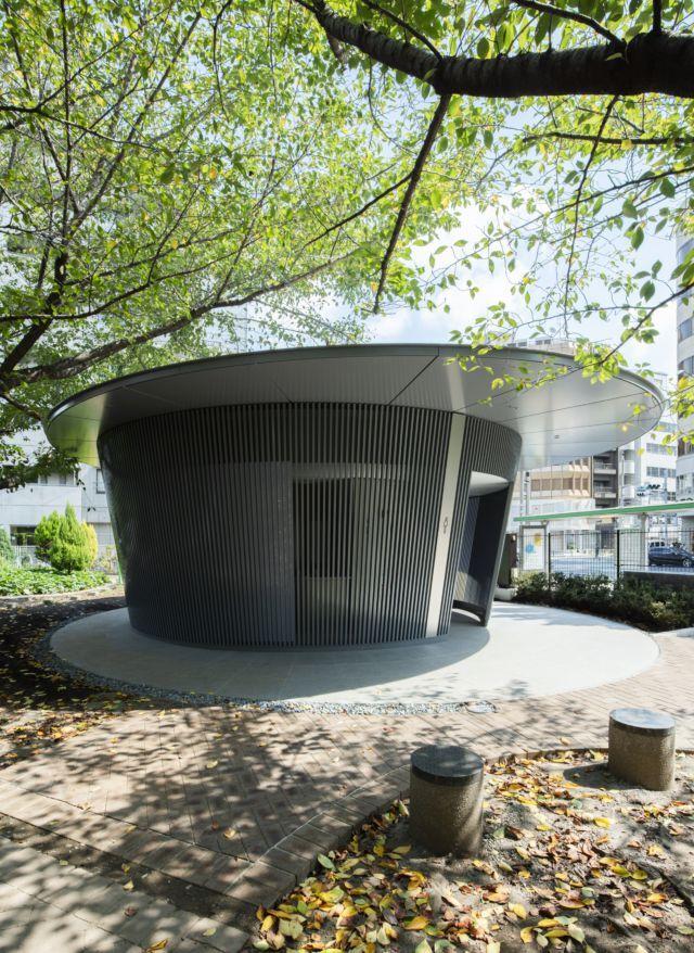 The public restroom designed by Tadao Ando, Hon. FAIA