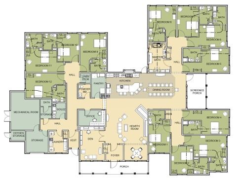 Getting Better With Age Design For Senior And Assisted Living Facilities Architect Magazine