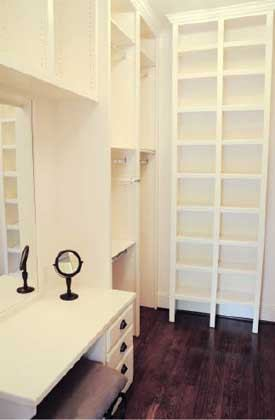 A Few Years Ago I Had Some Clients Who Completely Changed How Finish Large Walk In Closets This Was Determined To Have The Perfect Master Closet
