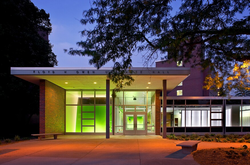 Michigan State University Owen Hall Renovation Architect Magazine Smithgroupjjr East