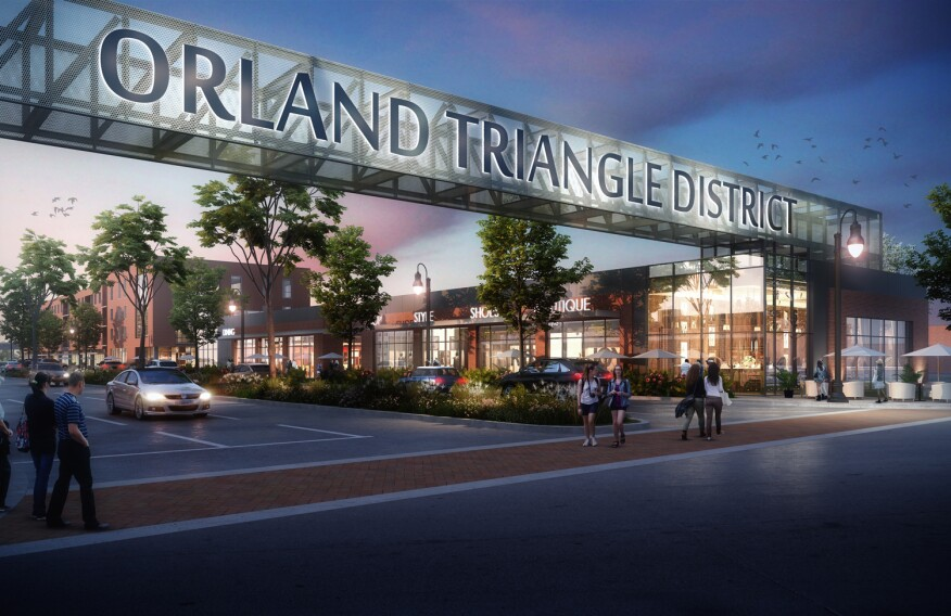 Structured Development will develop the final 9 acres of the 27-acre Triangle in Orland Park, Ill.—a mixed-use master plan adjacent to the Chicago suburb's Metra station with an urban style that helps establish a gateway to the village.