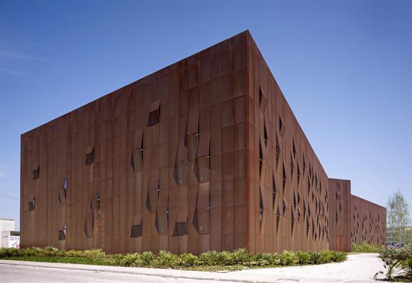 Metal Panel Facade : Metal façade architect magazine emre arolat architects