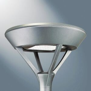 The Mesa Led Outdoor Area Luminaire From Cooper Lighting Company Invue Is Available In Single