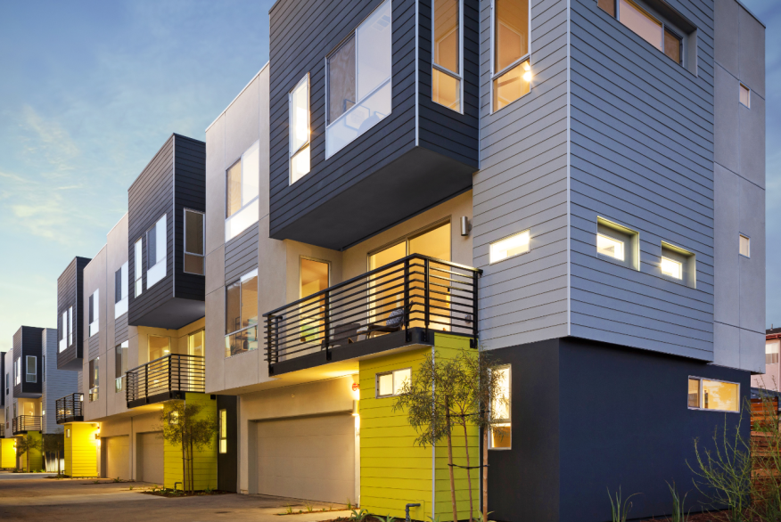 New l a project redefines detached housing builder Urban infill house plans